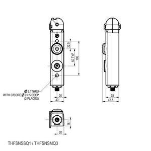 Fortress Interlocks Actuator operated safety interlock
