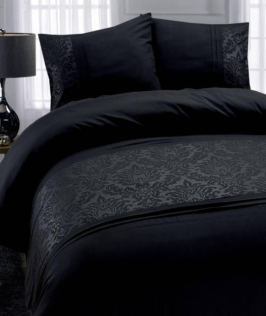 Luxe dekbedovertrekken Zwart Royal Barok  Bedlinnenexpert
