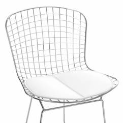 Bertoia Side Chair Oversized Sofa Chroom Hedron