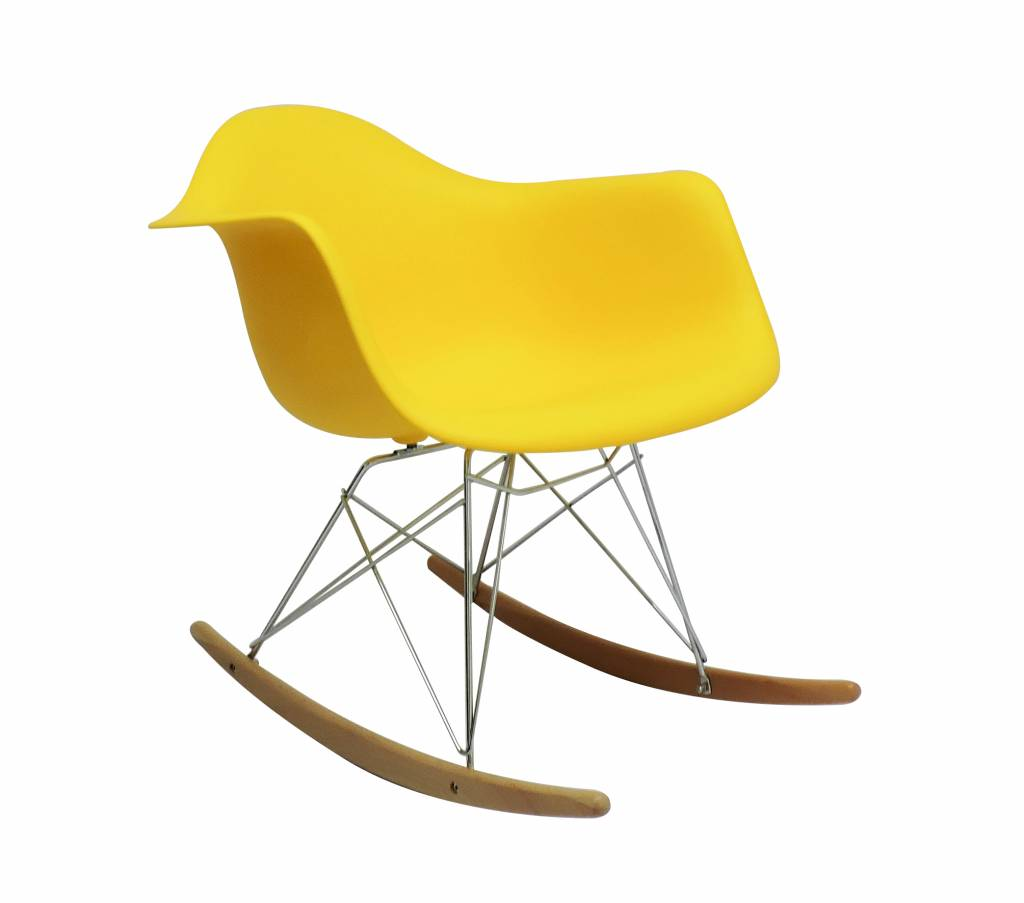 yellow rocking chair toddler wooden table and chairs rar eames design seats buy