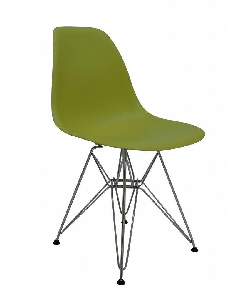 DSR Eames Design Eetkamerstoel Groen  Design Seats