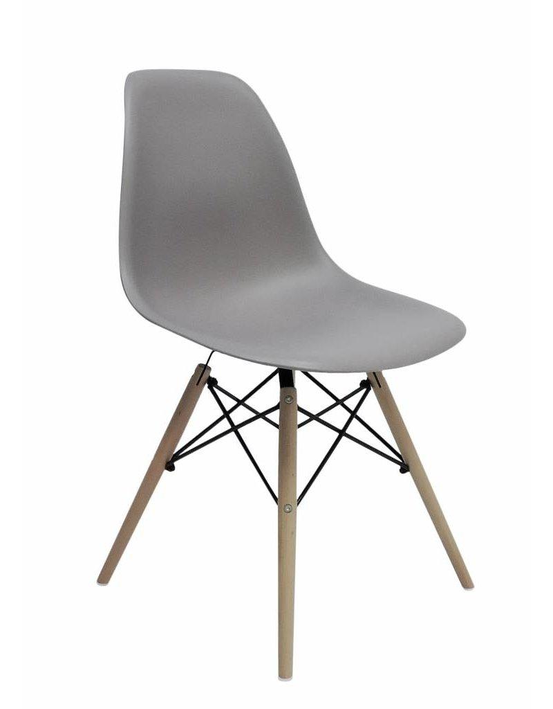 DSW Eames Design Eetkamerstoel Grijs  Design Seats