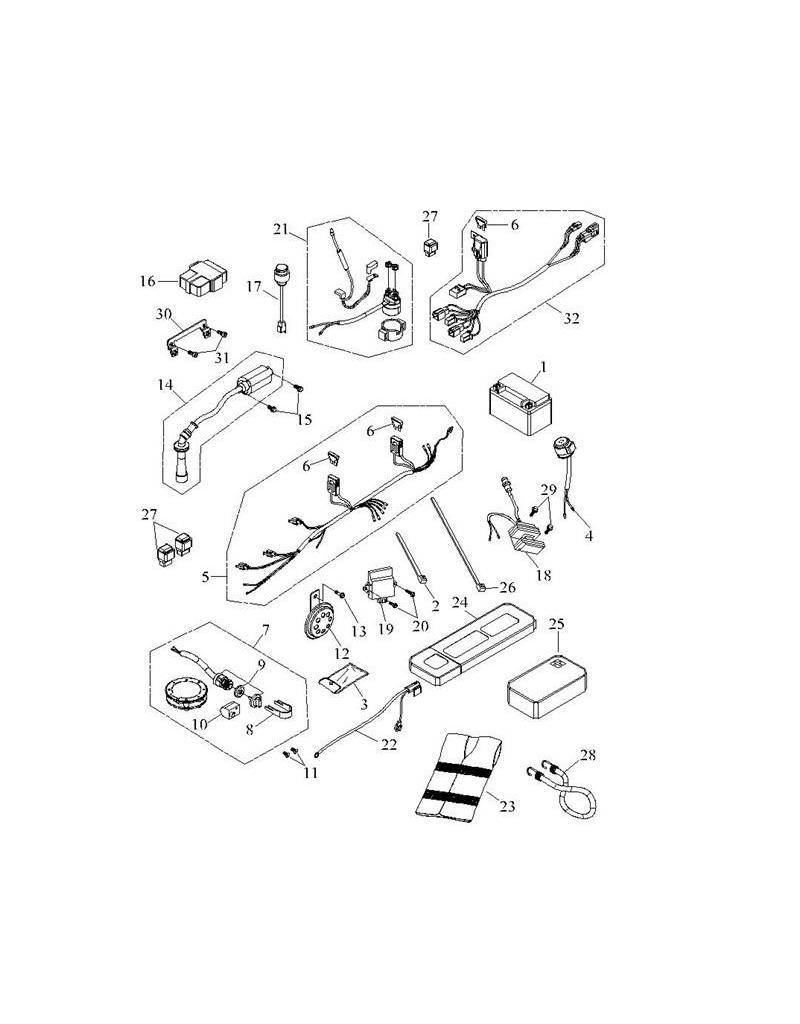 Atv Timberwolf 250 Wiring Diagram