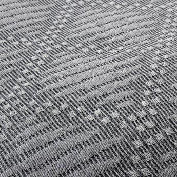 Bedsprei Fancy Embroidery Ritmo Grijs 180x270 cm