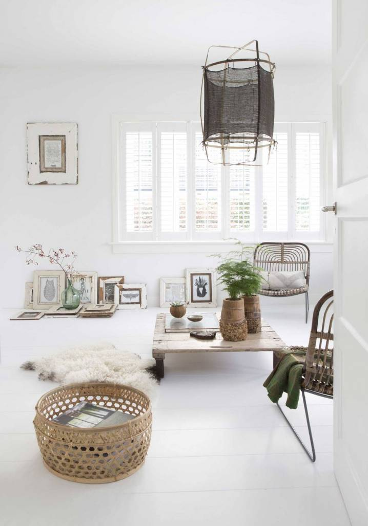 Scandinavian Ethnic and Vintage Decor seen on Planete