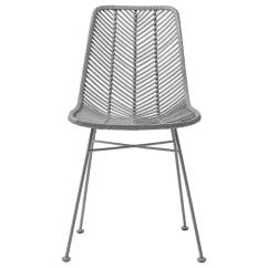 Gray Rattan Dining Chairs Reading For Sale Bloomingville Chair Lena Petite