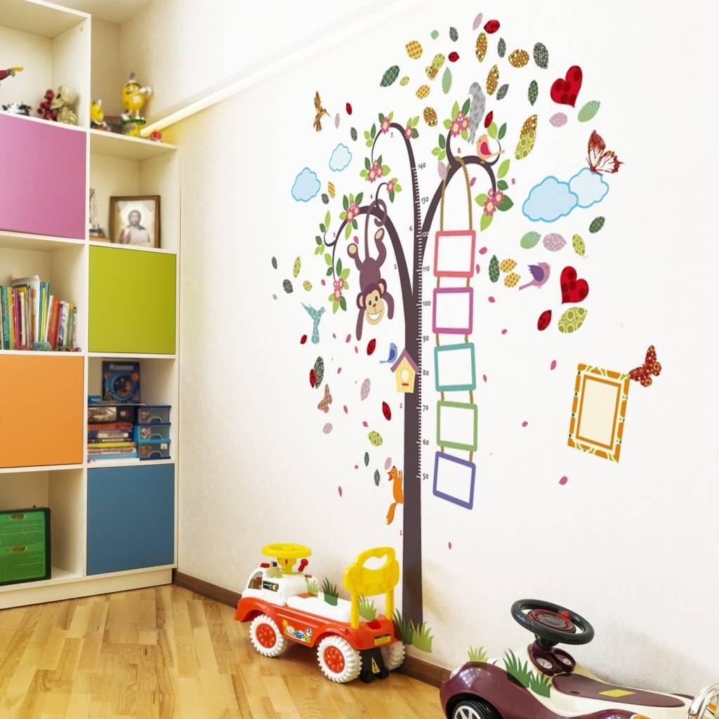Kinderkamer Muursticker Boom.Groeimeter Kinderkamer Meetlat Kinderkamer Zelf Maken Awesome