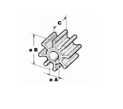 Yamaha / Selva S75 pk en overige van 115-300 pk 6E5-44352