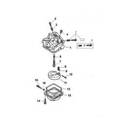 Mercury carburateur revisie kit & benzinepomp reparatie