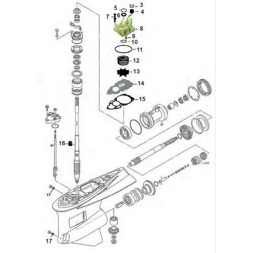 Groot aanbod Yamaha staartstuk onderdelen bestel bij