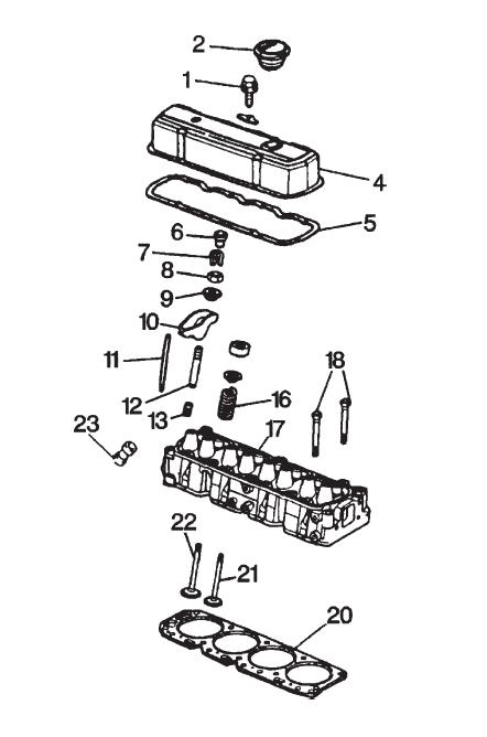 GM cilinder head / kop parts 3,0L / 4.1L Voordelig bestel