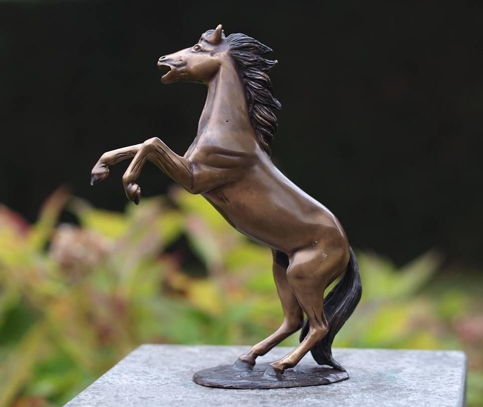 Beeld brons klein steigerend paardje  Eliassen Home