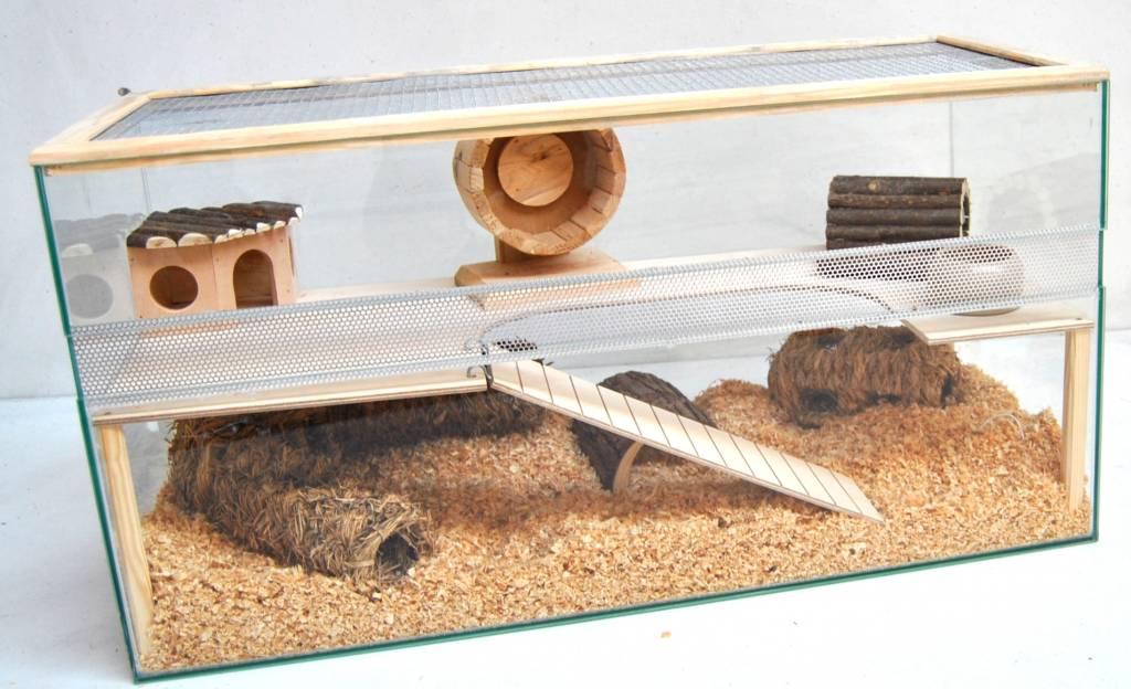 Hamsterterrarium 80 cm  Huisdierspeciaalzaak Bultende Beijer