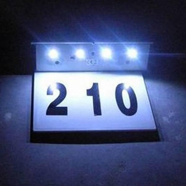 Verlichte Huisnummers online kopen I MyXLshop