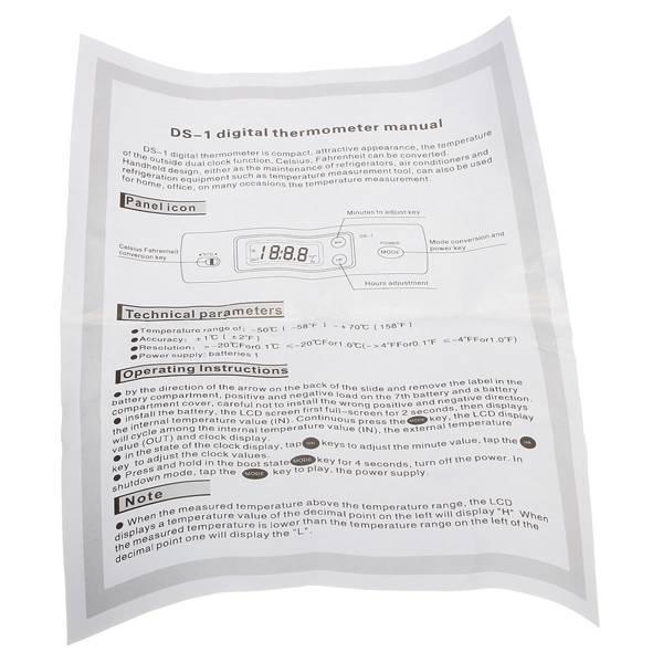 Dashboard Thermometer online kopen I MyXLshop
