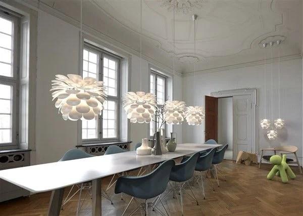 Hanglamp bloem wit E27 500mm diameter  Myplanetled