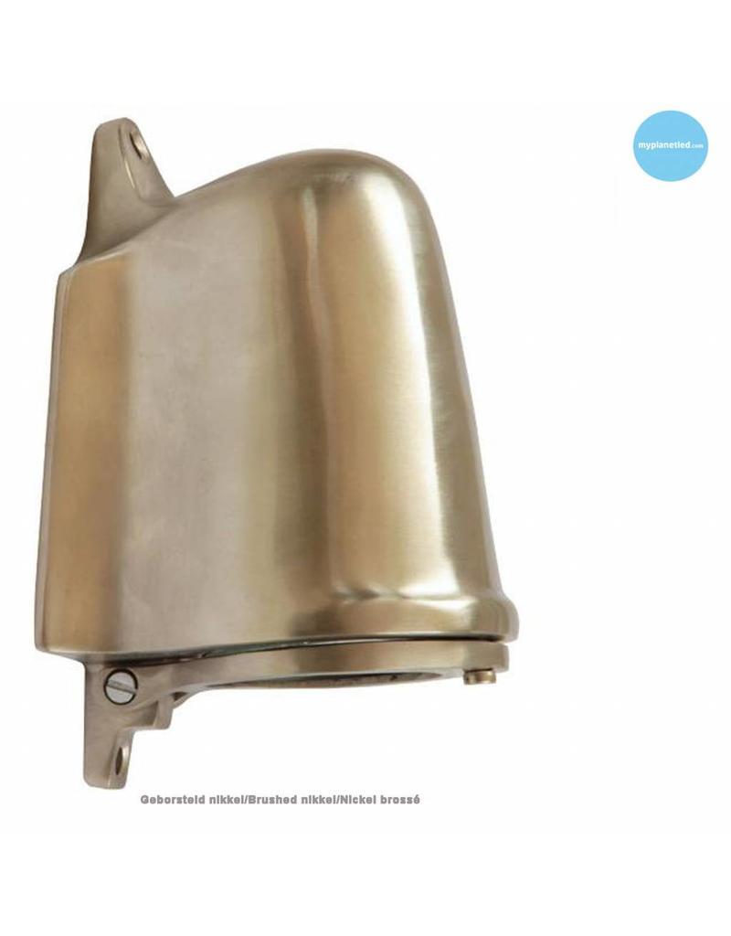 Wandlamp buiten landelijk bronschroomnikkel GU10 130mm