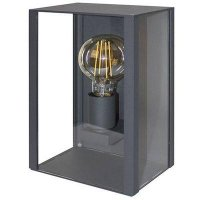 Glass wall lamp for outside anthracite | Myplanetled
