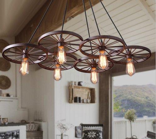 Industrile hanglamp met 6 wielen voor LED verlichting