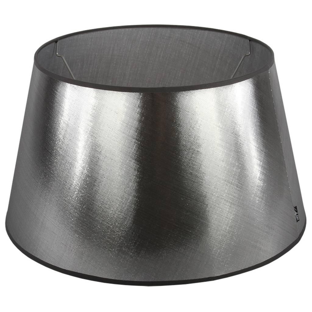 Lampenkap 20 cm Drum AZZURO Zilver  Lampenkappenonline