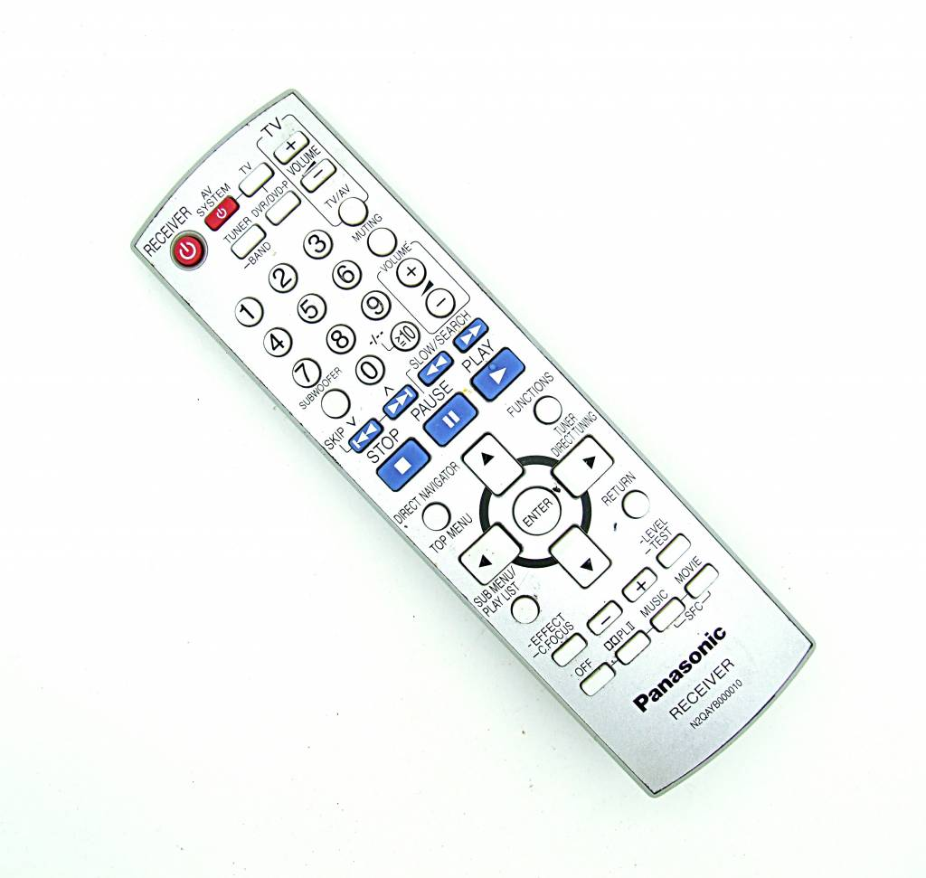 Original Panasonic N2QAYB000010 receiver remote control