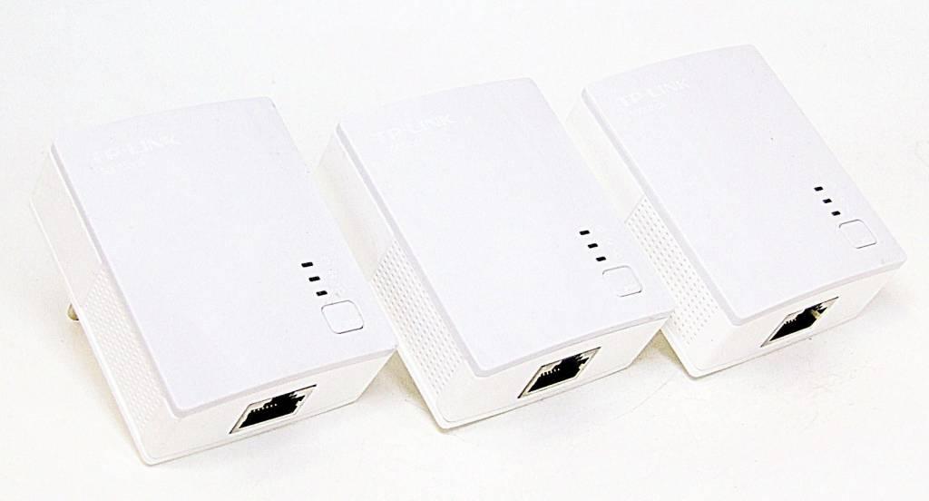 TP-LINK TL-PA4010TKIT / 3 x TL-PA4010 500Mbps Nano