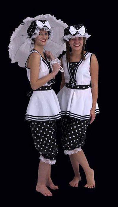 Badkleding jaren 20 Incognito Kledingverhuur