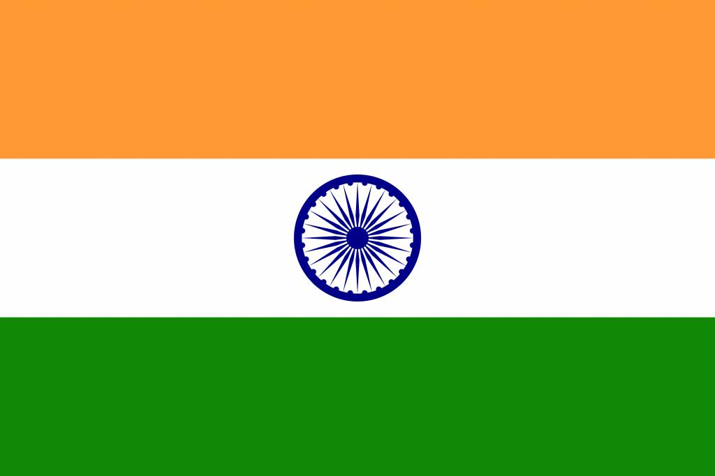 India Flag Coloring Country Flags