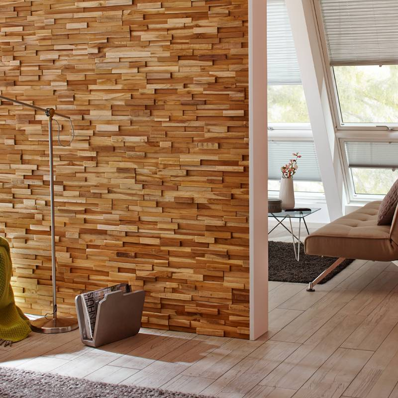 Rebel of Styles UltraWood Teak Firenze  wallsupply
