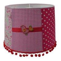Juul Design Juul Design kinderlamp vogel patchwork pink ...