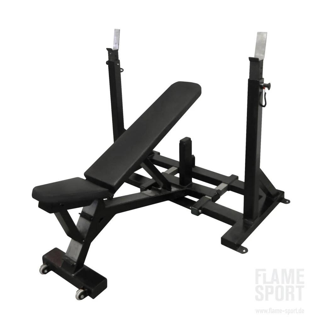 Adjustable Bench Press (4a) Flame Sport  Flame Sport