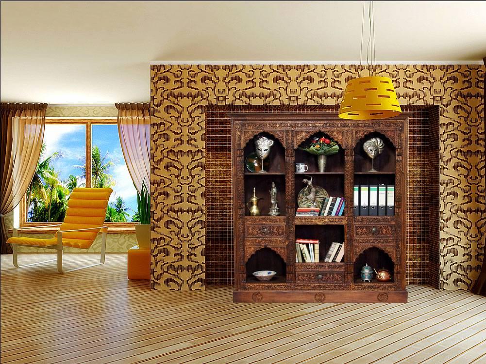 Wohnzimmerschrank Regal XXL  orientart
