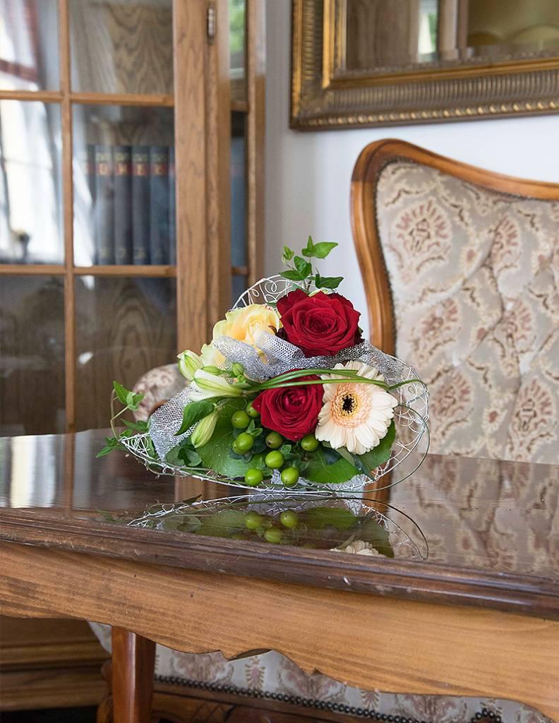 Silberne Hochzeit  Blumenversand florafinesse
