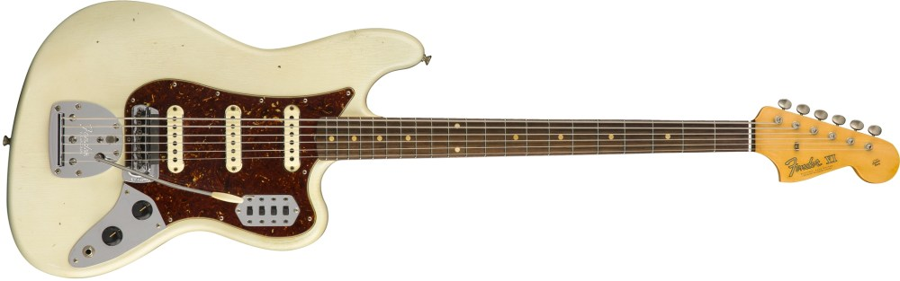 medium resolution of don t let this jaguar related guitar fool you she s an octave below a regular six string and is called a bass for a reason