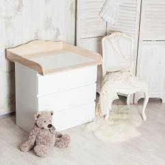 Stokke High Chair Baby Bunting Upholstered Folding Chairs With Arms Changing Top For Ikea Malm Brusali Oppland Cloud