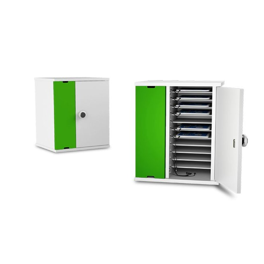 charging cabinet for 10 iPads and tablets between 8 and 11