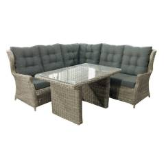 Corner Sofa Outdoor Furniture Covers Wooden Designs Without Cushion Garden Cover Shop Dining