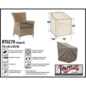 garden chair covers the range 2 seater love furniture cover shop raffles weather for 70 x 65 h 95 65cm