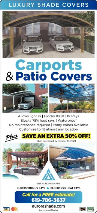 carports patio covers aurora shade
