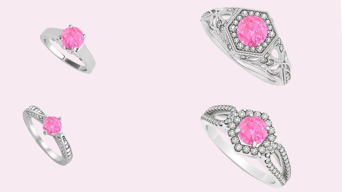 10 Stunning Pink Sapphire Engagement Rings
