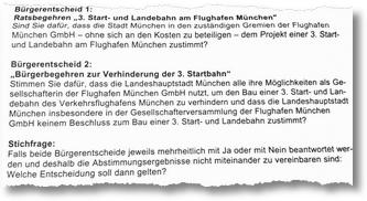 Quelle: Wahlbenachrichtigung Stadt München