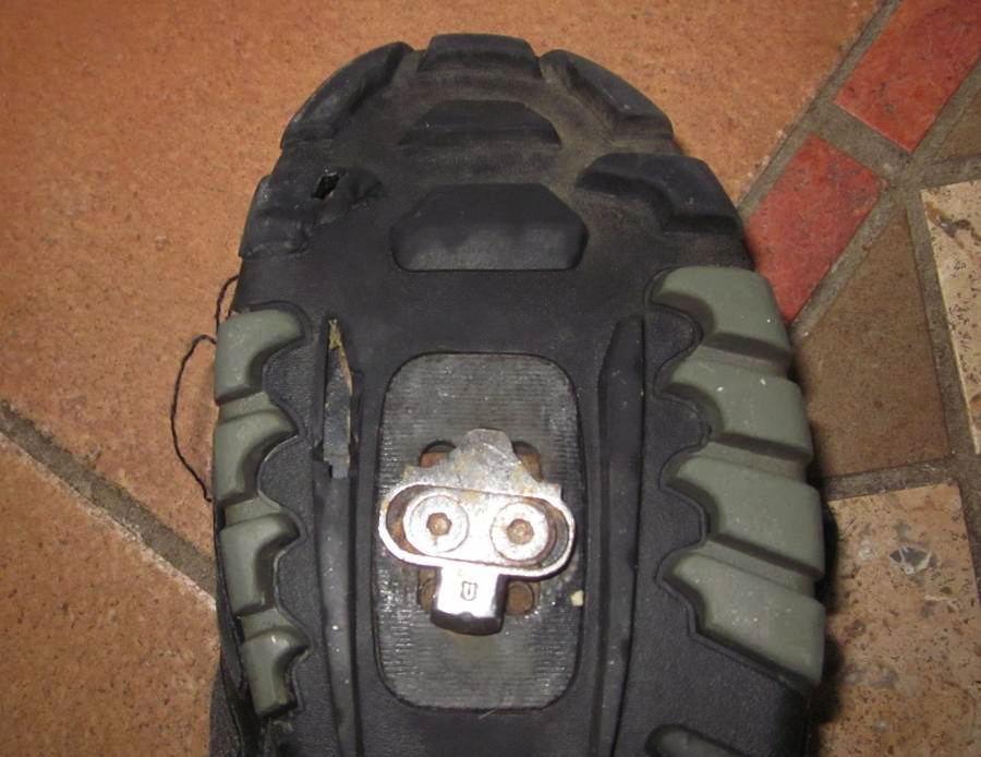 Schuhe mit SPDKlick  Mit dem Fahrrad zur Arbeit