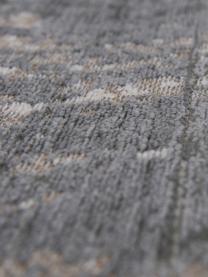 tapis poils ras gris blanc griff