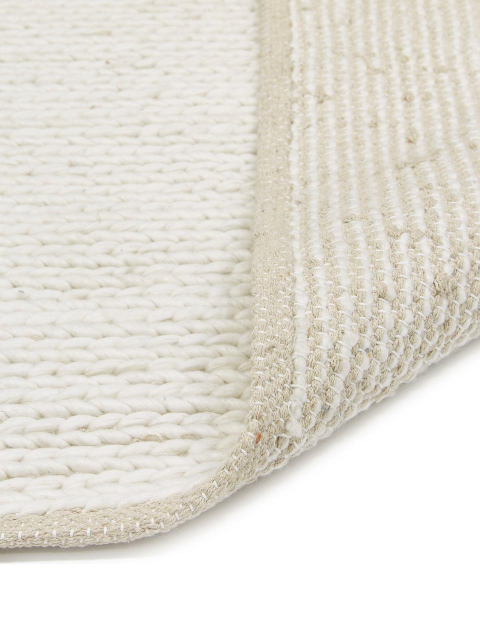 tapis en laine tisse main uno