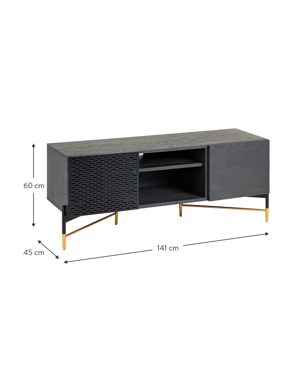 meuble tv avec porte coulissante milian