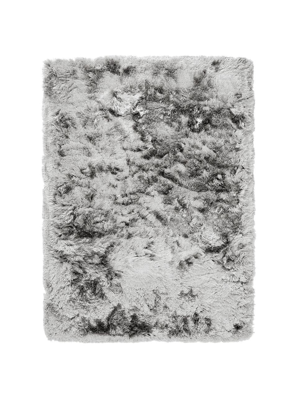 glanzender hochflor teppich jimmy in hellgrau