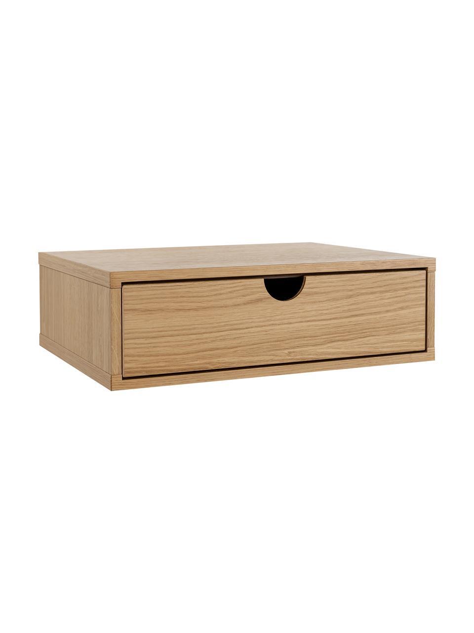 table de chevet murale en bois avec tiroir farsta