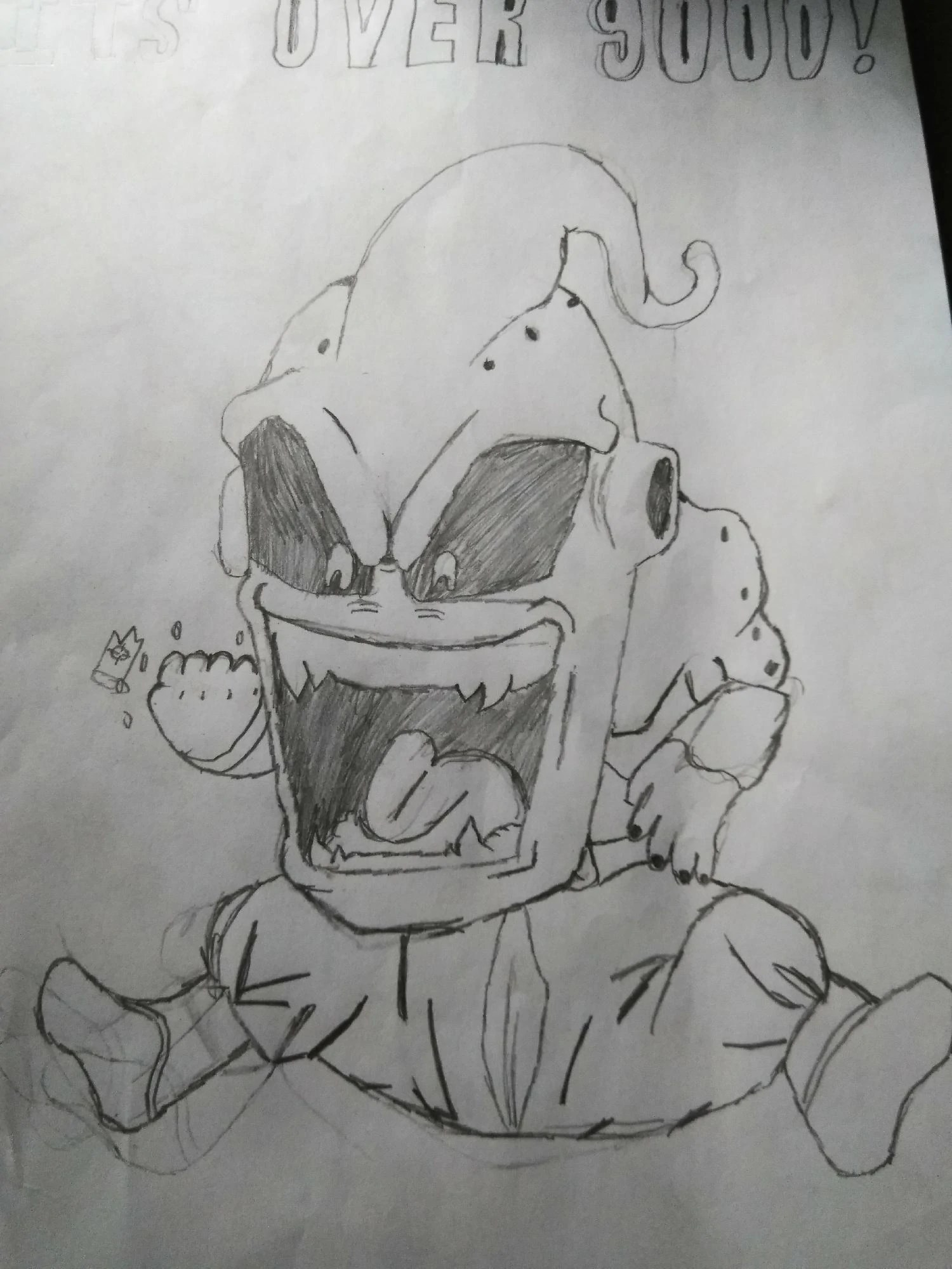 Kid Buu Drawing : drawing, Found, Picture, Google, Fandom