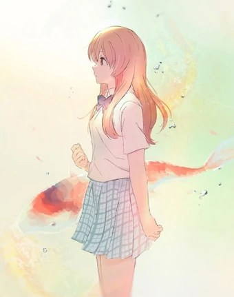 Quiet Anime Girl : quiet, anime, Shoko, Nishimiya, Silent, Voice, Fandom