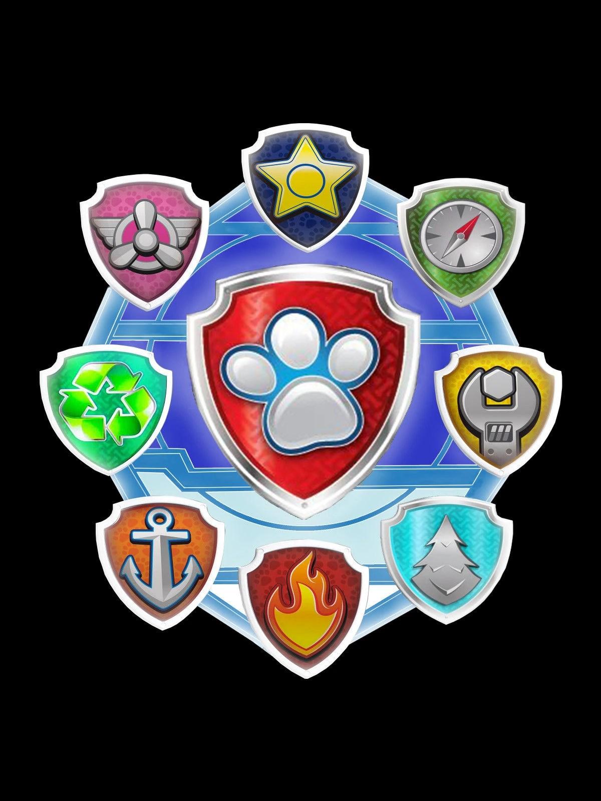Paw Patrol Badge : patrol, badge, Badges, Adventures, Patrol, Fandom